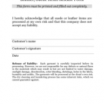 Release Form Template
