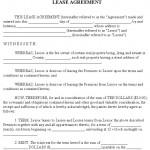 Rent Contract