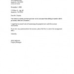Rent Increase Sample Letter