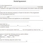Rental Lease Form