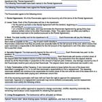 Roommate Agreement Template Free