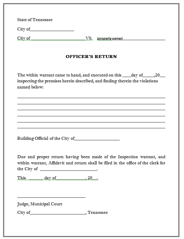 Sample Affidavit Free Printable Documents