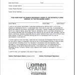 Sample Liability Waiver Form