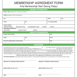 Sample Membership Agreement