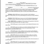 Sample Non Disclosure Agreement