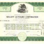 Sample Stock Certificate