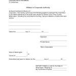 Sample Sworn Affidavit