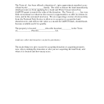 Sample Waiver Form