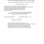 Sample Waiver Of Liability Agreement