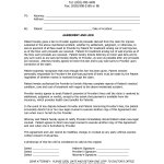 Settlement Agreement Letter