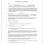 Simple Loan Contract
