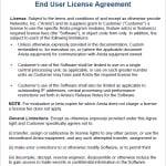Software Support Agreement Template