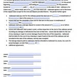 Sublease Agreement Contract