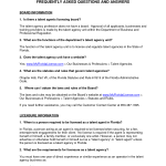 Talent Agent Contract Template