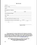 Travel Trailer Bill Of Sale