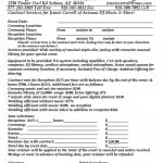 Wedding Dj Contract