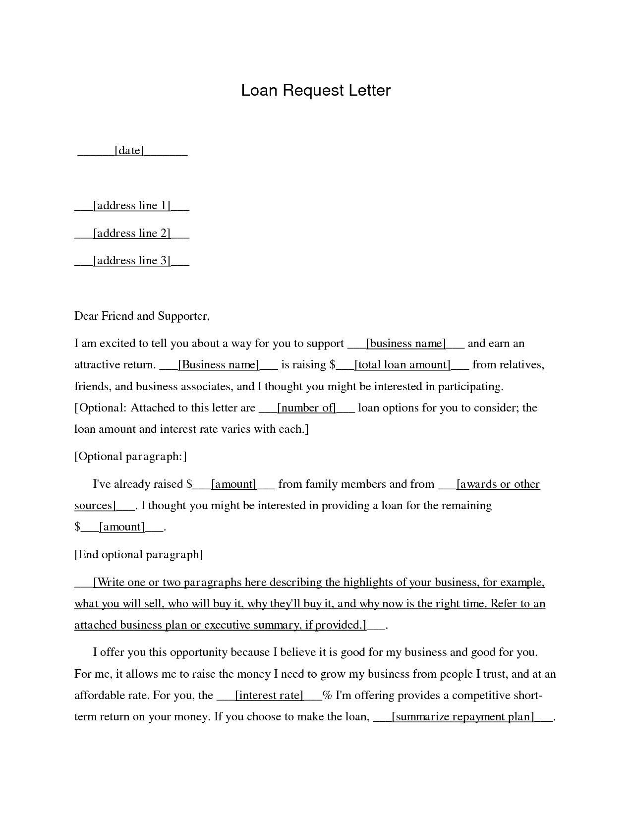 letter asking for a loan business loan application letter sample free printable 21554